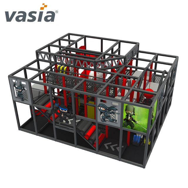 Shopping Mall Ninja Course Soft Indoor Playground for Ninja School