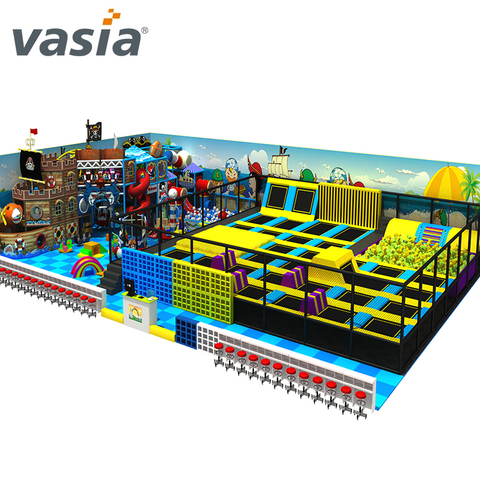 Customized Made Trampoline Indoor Trampoline Park Equipment