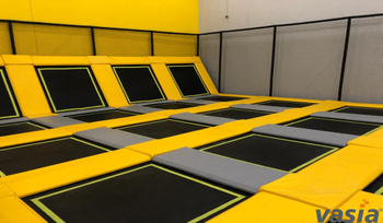 How could indoor trampoline park better deal with the influence from COVID-19 pandemic?
