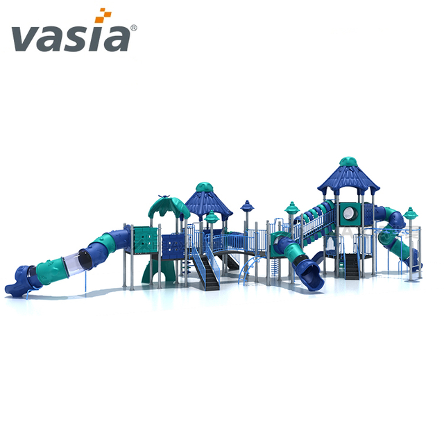 Professional Big Slide Structure Outdoor Climbing Playground Equipment