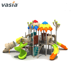 New Jungle Kids Outdoor Slide Playset