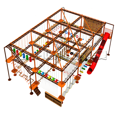 Vasia Challenge Play Park for Adult Adventure Exciting Game Rope Course