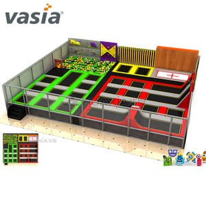 Vasia Cheap Course Professional Indoor Trampoline Park for Indoor