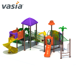 Super Children Favorited Model Outdoor Park Kids Climbing Frame And Slide Equipment