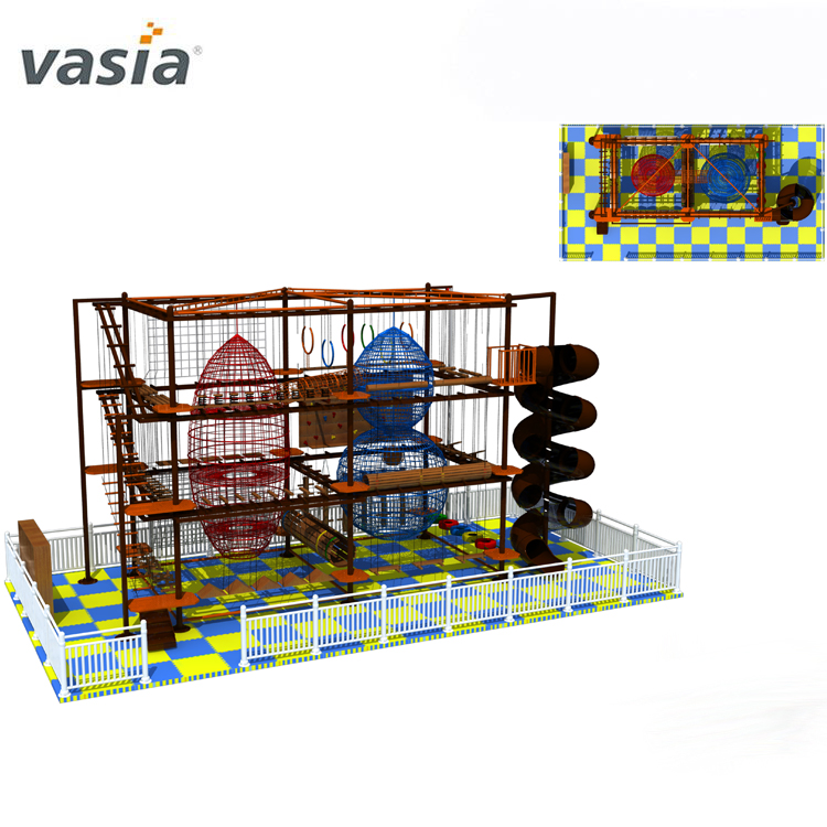 Professional Exsiting Children Harness Adventure Indoor High Ropes