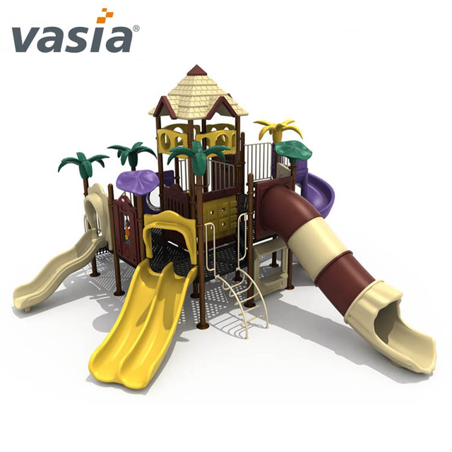Preschool Children Combination Outdoor Plastic Slide