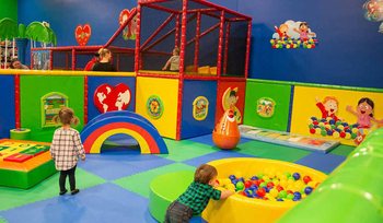 Why children can learn from playing in the indoor playground?