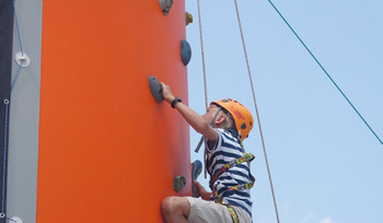 How Children from Climbing in the Adventure Park?