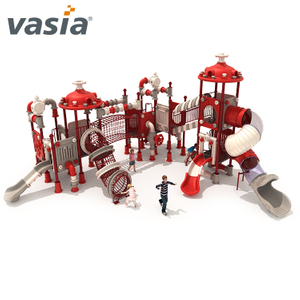 Hot Sale Plastic outside Playground with Slide for Toddlers