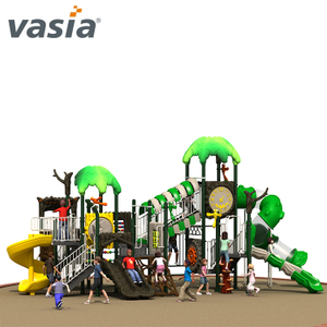 Safe Vasia Brand Exciting Sprial Tube Slide Children Outdoor Playground
