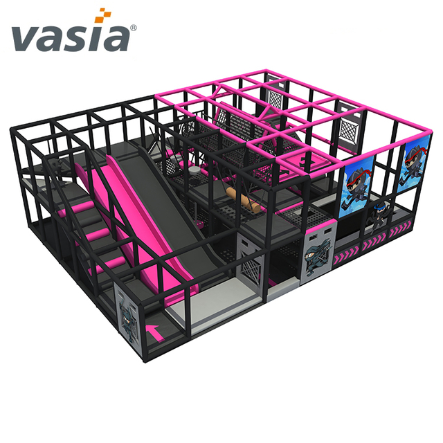 Exercise Ninja Course Soft Indoor Playground Shopping Mall for Ninja School