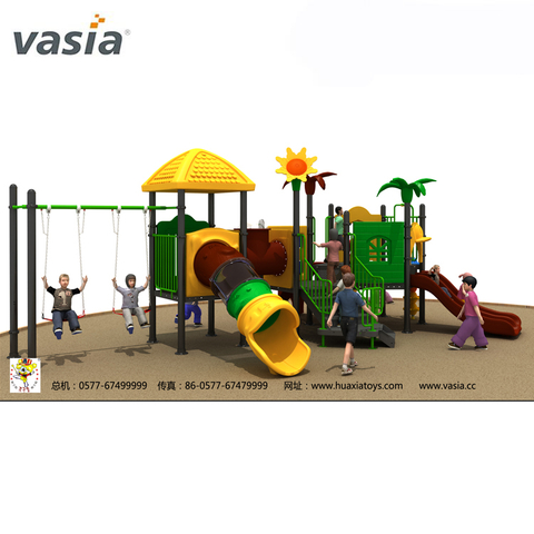 Happy Wonderful Climbing Frame Monkey Bars Play Slide for Playground