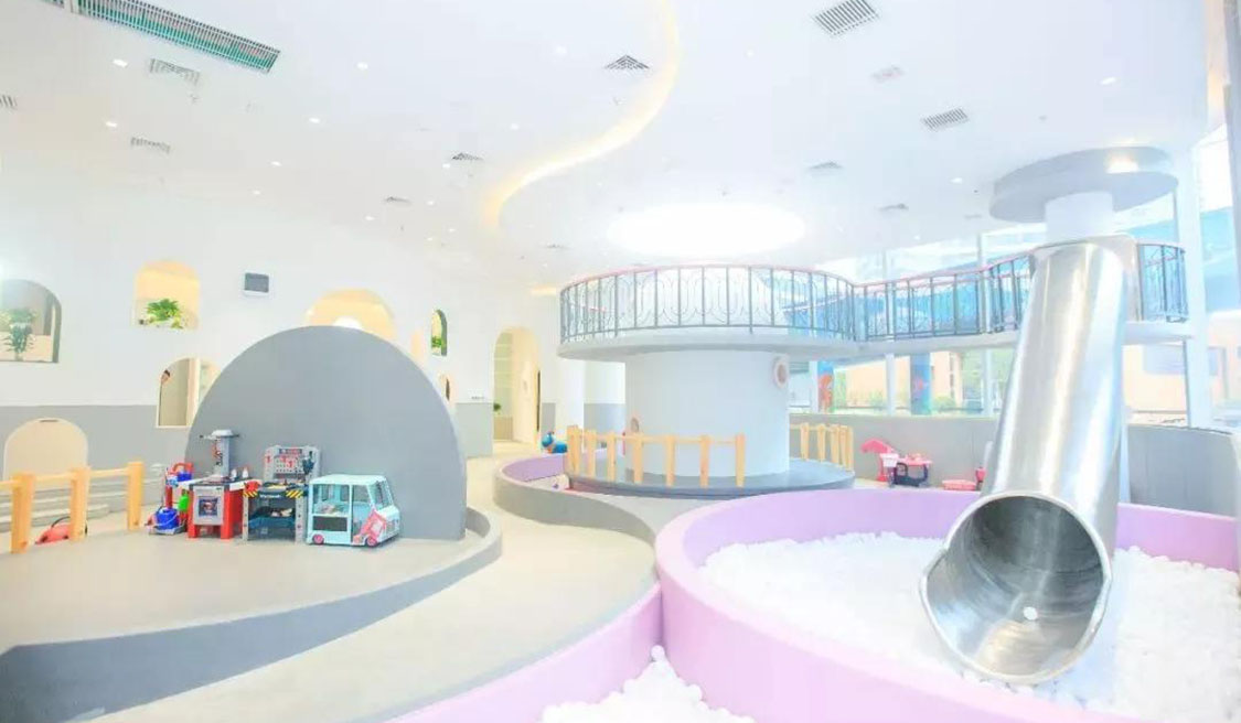 What Is the Material of Indoor Playground?